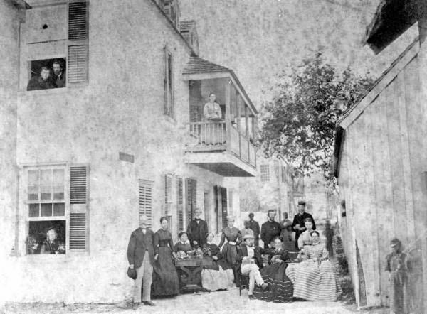 1860's Boarding House Visitors